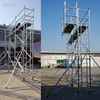Single Climb Ladder Scaffolding 5m with Bracket Adjustable
