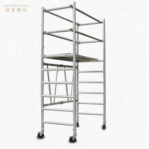 Board Mobile Ladder Foldable scaffolding