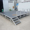 lightweight aluminum park Square Stage