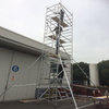 Portable Bracket Double scaffolding with climbing ladder