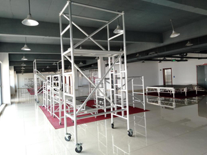 Mobile Ladder Single Scaffolding