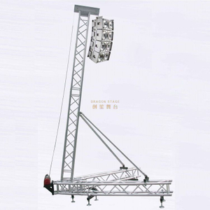 Aluminum Line Array Speaker Truss System 8m