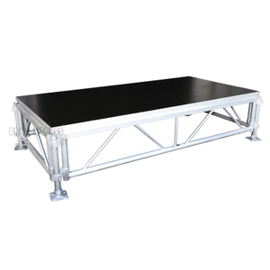 modular aluminum village Square Stage