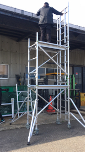 Adjustable Tower Single Scaffolding
