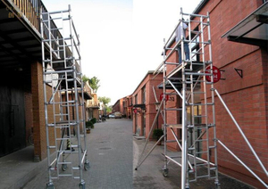Adjustable Frame Single Scaffolding