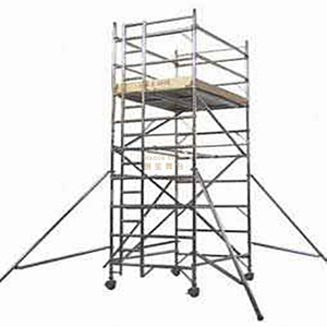 Portable Double Width Rolling Scaffold Tower Near Me 4.76m