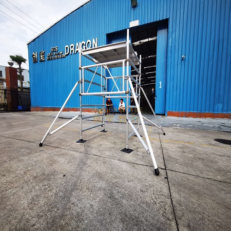 Plank Mobile Ladder Foldable scaffolding