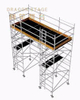 Mobile Scaffolding with Long Working Platform