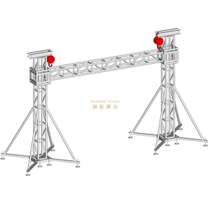 Concert Stage Background Led Display Gentry Truss 6x5m