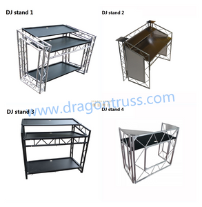 Portable Aluminum DJ Truss Table Desk Booth for Sale